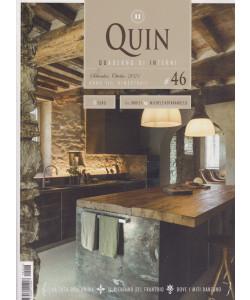 Quin - Quaderno di interni - n. 46 - settembre - ottobre  2021 - bimestrale