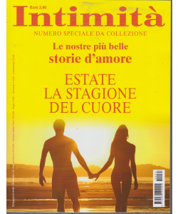 Intimità - Numero speciale da collezione - bimestrale - n. 34 -
