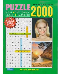 Puzzle 2000 - n. 363 - mensile -luglio  2021 - 100 pagine