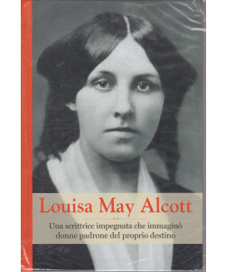 Grandi donne - n. 40- Louisa May Alcott-  settimanale -18/6/2021 - copertina rigida