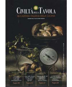 Civiltà della tavola - bimestrale - n. 10 - settembre - ottobre  2021