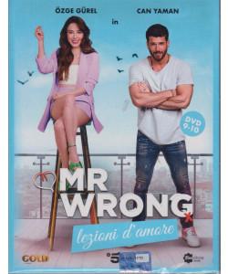 Mr Wrong - Lezioni d'amore - n. 22-  quinta  uscita  - 2 dvd + booklet - 18 settembre  2021   - settimanale