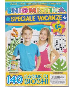 Enigmistica Speciale vacanze - n. 23 - bimestrale - giugno - luglio 2021 - 140 pagine di giochi