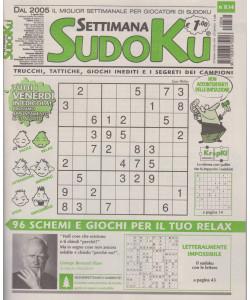 Settimana Sudoku - n. 834 - settimanale -6 agosto  2021