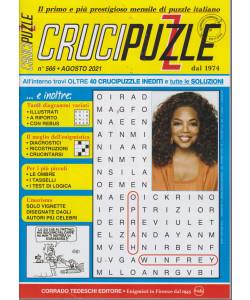 Crucipuzzle - n. 566  -agosto 2021 - mensile