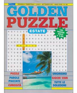 Golden Puzzle  estate - n. 139 - trimestrale -luglio - settembre  2021- 100 pagine