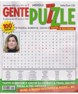 Gente puzzle - n. 11 - novembre  2021 - mensile - 100 pagine