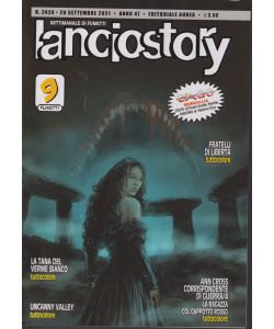 Lanciostory - n. 2424 - 20 settembre 2021 - settimanale di fumetti