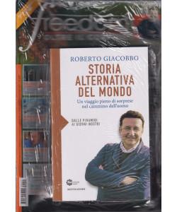 Freedom magazine speciale   n. 21 - mensile - novembre  2021 - + il libro di Roberto Giacobbo   Storia alternativa del mondo - rivista + libro