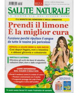Salute Naturale - n. 268 -Prendi il limone. E' la miglior cura-agosto  2021 - mensile -