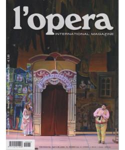 L'opera international magazine - n. 61 - mensile  - luglio - agosto  2021