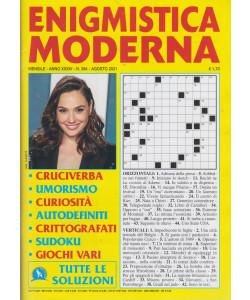 Enigmistica moderna - n. 394 - mensile -agosto   2021