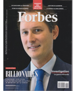 Forbes   - n.43  -maggio  2021 - mensile