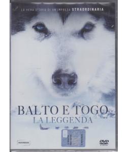 I Dvd di Sorrisi Collection 2 n. 6- Balto e Togo - La leggenda - 19/1/2021- settimanale