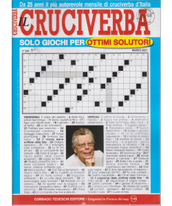 Il Cruciverba - n. 326 - marzo  2021 - mensile