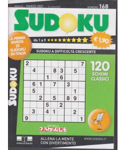 Sudoku - n. 168 - mensile - marzo 2021