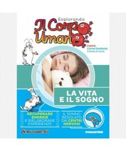 """Esplorando il Corpo Umano - 27esima edizione Fascicolo """"La vita e il sogno"""" + DVD in HD"""