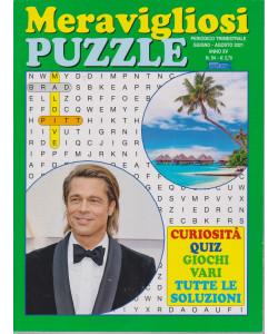 Meravigliosi Puzzle - n. 54 - trimestrale - giugno - agosto 2021