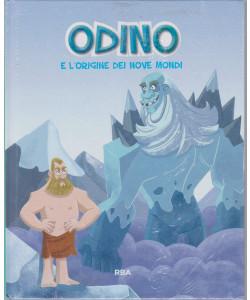 Odino e l'origine dei nove mondi  - n. 19  - settimanale - 18/6/2021 - copertina rigida