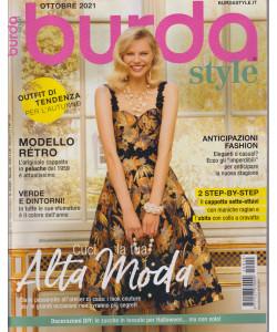 Burda style -  n. 10 - ottobre  2021 - mensile  -