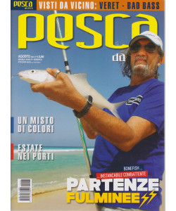 Pesca da terra - n. 8 - mensile - agosto 2021