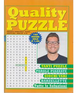 Quality Puzzle - n. 56 - trimestrale -giugno - agosto  2021 - 100 pagine