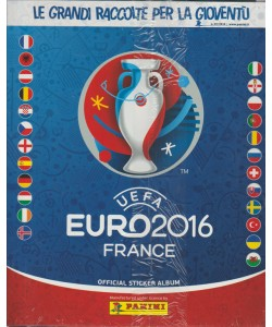 LE GRANDI RACCOLTE PER LA GIOVENTU'. N. 7. 2016. UEFA EURO2016 FRANCE. OFFICIAL STICKER ALBUM+ CALCIO 2000.