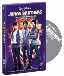 Jonas Brothers - The Concert Experience (DVD Walt Disney)