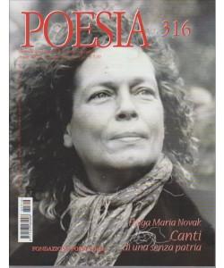 POESIA. N. 316.  GIUGNO 2016.
