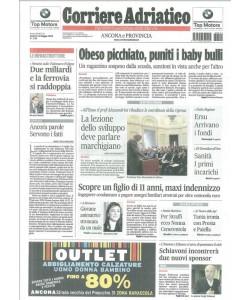 Corriere Adriatico di Sabato 14 Maggio 2016