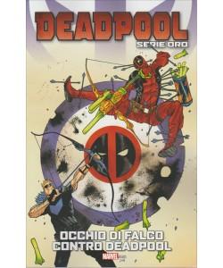 """DEADPOOL Serie oro vol.19 """"Occhio di falco contro Deadpool"""" by Tuttosport"""