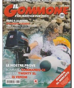 IL GOMMONE E LA NAUTICA PER TUTTI. N. 350. LUGLIO 2016.