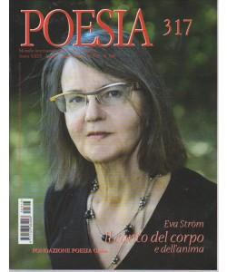 POESIA N. 317. LUGLIO/AGOSTO 2016.