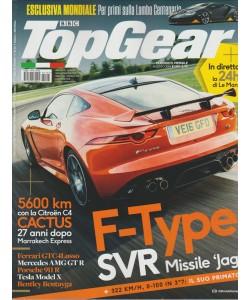 Top Gear - Mensile n. 105 Agosto 2016