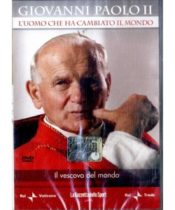GIOVANNI PAOLO II Il Vescovo del Mondo - DVD Documentario TV - vol.2
