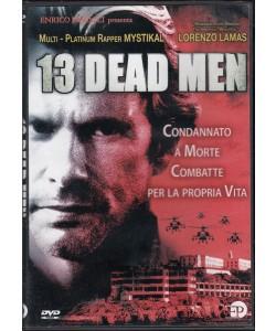 13 dead men - Lorenzo Lamas - DVD