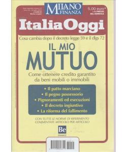 ITALIA OGGI. MILANO FINANZA. N. 14. 8 LUGLIO 2016.  A CURA DI MARINO LONGONI.