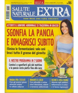 SALUTE NATURALE EXTRA. N. 86. LUGLIO 2016.