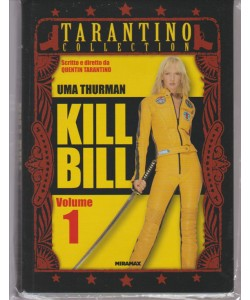KILL BILL VOLUME 1. OTTAVA USCITA. TARANTINO COLLECTION. CON UMA THURMAN.