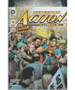 Superman Action Comics 03 - DC Comics Lion