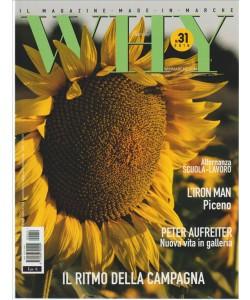 WHY Marche - bimestrale n. 31 Luglio/Agosto 2016