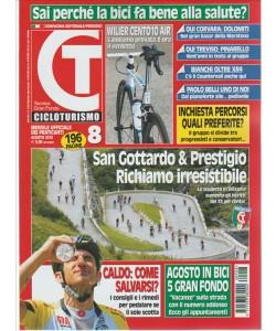 CT Cicloturismo mensile n. 8 Agosto 2016