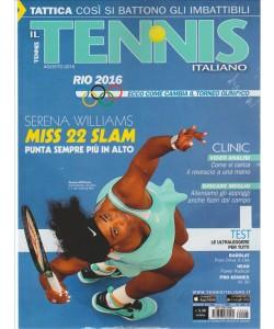 Tennis Italiano mensile n. 8  Agosto 2016