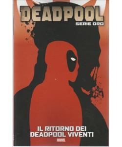 """DEADPOOL Serie oro vol.24 """"Il ritorno dei DEADPOOL  viventi"""" by Tuttosport"""