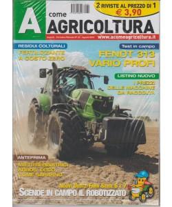 A Come Agricoltura + Trattori supermarkrt - mensile n. 32 Agosto 2016