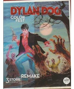DYLAN DOG. COLOR FEST. N. 18. AGOSTO 2016. TRIMESTRALE.  REMAKE.