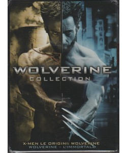 WOLVERINE COLLECTION. COFANETTO DA COLLEZIONE 2 FILM. X-MEN LE ORIGINI: WOLVERINE + WOLVERINE L'IMMORTALE.