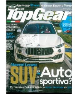 Top Gear mensile n. 108 Novembre 2016