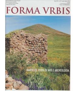 FORMA URBIS. N. 7/8 LUGLIO/AGOSTO 2016.