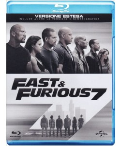 Blu Ray Fast&Furious 7 - un film di James Wan con Vin Diesel, Paul Walker